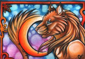 Ashanti Double ACEO by Sternen-Gaukler
