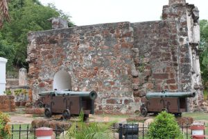 Cannon and wall stock by joelshine-stock