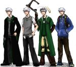 The Big Four: Jack Frost outfits by ZLynn