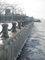 Ice Pier by WoodenOx