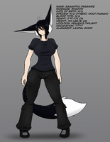 Shadow Profile by AngelTheCatgirl