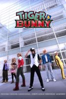 TIGER and BUNNY by kushiyaki-group