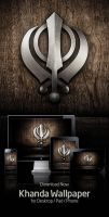 Khanda Wallpaper 2012 by tj-singh