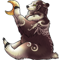 Moon Bear by Rigamortis