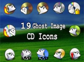 19 ghost image cd dvd icons by zman3