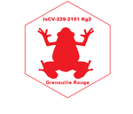 IsCV Grenouille Rouge Patch by wbyrd