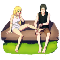 Commission: Suiren and Itachi by Dakkar-H