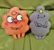 Melissa and LSP inspired plushie set by FreshCrayons