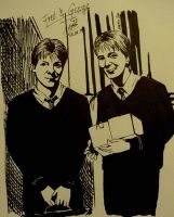 Fred and George by i-SkEtCh-YoU