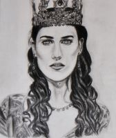The Lady Morgana by WithABucketOfPencils