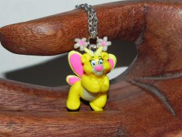 Butterbear Wuzzles Necklace by Secretvixen