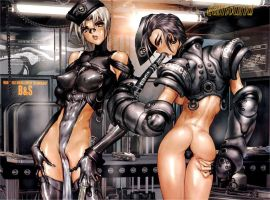 Masamune Shirow Intron Depot by jkno4u