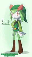 Kirlia!Link by MagicBirb