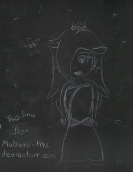 rosalina in Black and White by Mabaro-1992