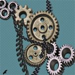 Cogs and chains. by jennystokes
