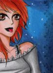 ACEO #113 - Leah by Elythe