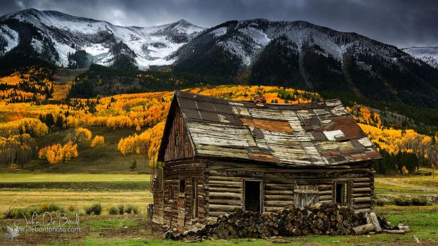The Cabin In Crested Butte by kkart