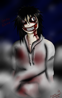Jeff The Killer: Misty Night On Your Way Home by yunikistardream