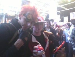 Jack spicer and pokemon trainer by B0N3Z666