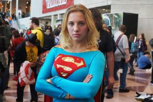 NYCC 2012 - Supergirl 5 by kamau123