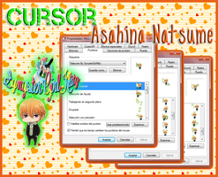 Cursor Animado Natsume ( Brothers Conflict ) by SynysterGirlKltz