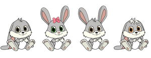 Nameless Bunnies 2 by SchnuffelKuschel
