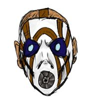 Borderlands Psycho by CaptainStonebelly