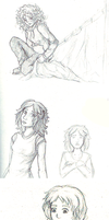 January 2013 sketchdump by Biali