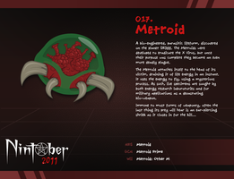 Nintober 017. Metroid by fryguy64