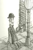 The Bowlerhat Man by the-awaken