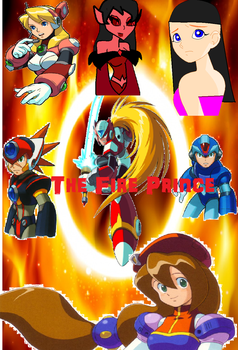 The fire prince cover by Bellasilverstar2