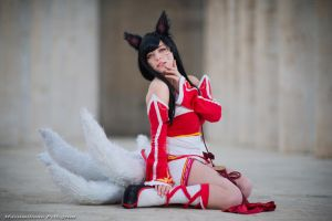 Ahri (League of Legends) by Maxsy66