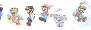 Mario Forms 8-13 by Creation7X24