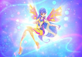 Litea - Fairy of Electricity by MishAir