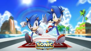 Sonic Generations by moxie2D