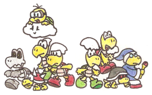 The Koopa Troop by Mutoh