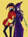 Gagaga Magician and Dark Magician by thecatKShiki