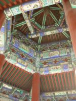 Roof of a Pagoda-Temple of Heaven by ChocolateStarfire