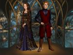 Alayne and Harrold  by SingerofIceandFire
