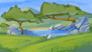 background practice by CoyoteEsquire