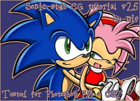 Re-upload: Sonic style CG by themie