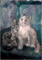 Kittens by natoth