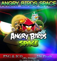 Angry Birds Space - Icon by cKL-Design