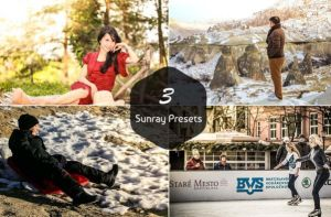 3 Free Sunray Presets by symufa