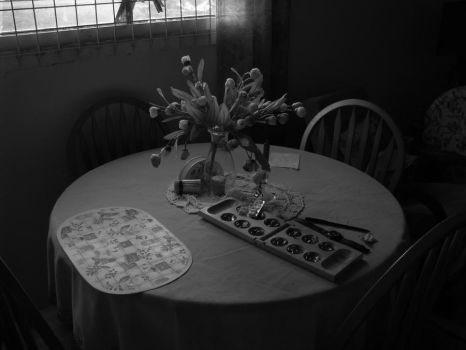 Kitchen table by ExistensialSlacker