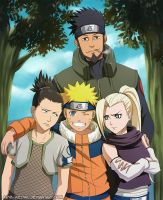 Naruto and Team10 by Arya-Aiedail