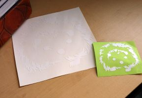 Hedgehog Decal by RHPotter