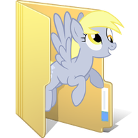 Derpy File Icon by Bronami