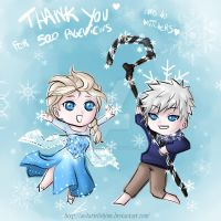 Jack and Elsa - 5000 pageviews - Thank you so much by AndarielleHime