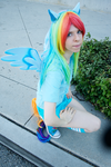 Rainbow Dash by blackfruitbat